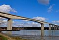 Under the Orwell Bridge and by the river-edit.jpg