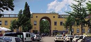 Universitätsklinikum Freiburg Der Haupteingang