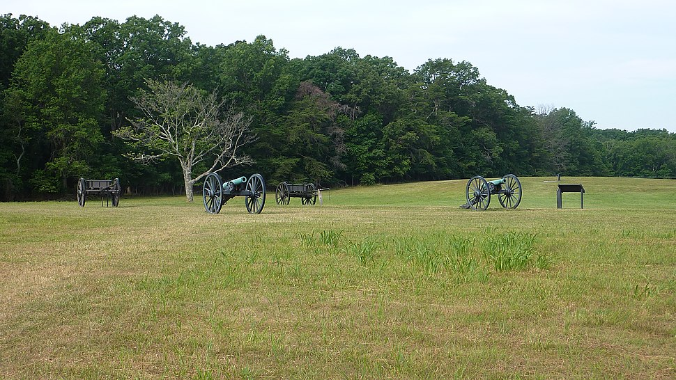 Union Howitzers Henry Hill