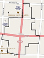 Urbana Monument Square Historic District map.png