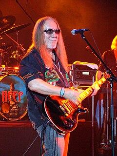 Mick Box British guitarist