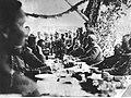 """Uroczystości z okazji rocznicy powstania 4 pułku Legionów i ostatecznego uznania 7 pułku Legionów na tzw. """"Rojowym Osiedlu"""" zbudowanym przez żołnierzy Legionów koło miejscowości Optowa (22-145-10).jpg"""