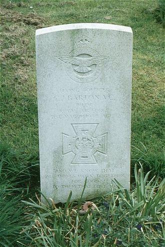 Cyril Joe Barton - Barton's grave