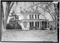 VIEW OF EAST FRONT ELEVATION - P. A. Bowen House, 15701 Dr. Bowen Road, Aquasco, Prince George's County, MD HABS MD,17-AQUA,5-3.tif