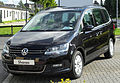 VW Sharan II 2.0 TDI BlueMotion Technology Comfortline front 20100905.jpg