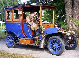 Automotive industry in Sweden - 1909 Vabis.