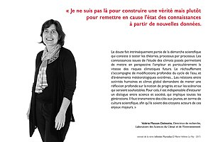 Portrait de Valérie Masson-Delmotte