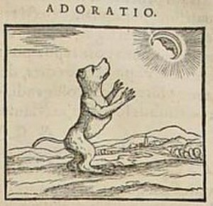 Pierio Valeriano Bolzani - Image from Valeriano's Hieroglyphica of Adoratio
