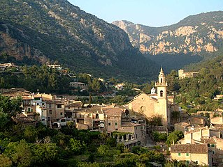 Valldemossa Municipality in Balearic Islands, Spain