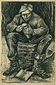 Van gogh workman sitting on a basket, cutting bread f1663 jh272.jpg