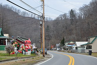 Van, West Virginia - Houses on WV 85