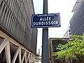 Vaulx-en-Velin - Allée Ourdissoir, plaque.jpg