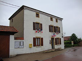 The town hall in Vendranges