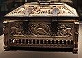 Venezia (attr.), cassetta-reliquiario in avorio e montatura in argento niellato, xiii secolo 07.jpg
