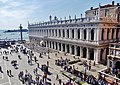Venezia Basilica di San Marco Terrasse Blick auf die Biblioteca Nazionale Marciana 3.jpg