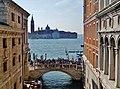 Venezia Palazzo Ducale Innen Blick von der Ponte dei Sospiri 5.jpg