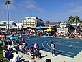 Venice beach Basketball in LA (22062187859).jpg