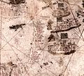 Vesconte Maggiolo. World chart, from eastern coasts of America to India. PORTOLAN CHART. Naples, 1516.D.jpg