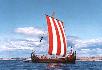 Viking metal - The Vindfamne, a replica knarr