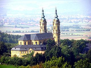 Church in Bad Staffelstein, Germany