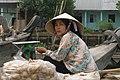 Vietnam, Phong Dien, Floating market in Mekong Delta, Woman.jpg