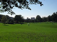 View across Hove Park, Hove (October 2010).JPG