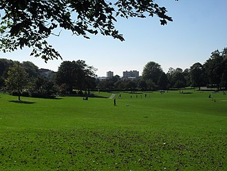 Hove Park - Image: View across Hove Park, Hove (October 2010)
