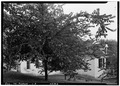 View from northeast. - Pierre Menard House, County Highway 6, Fort Gage, Randolph County, IL HABS ILL,79-FORGA,1-5.tif