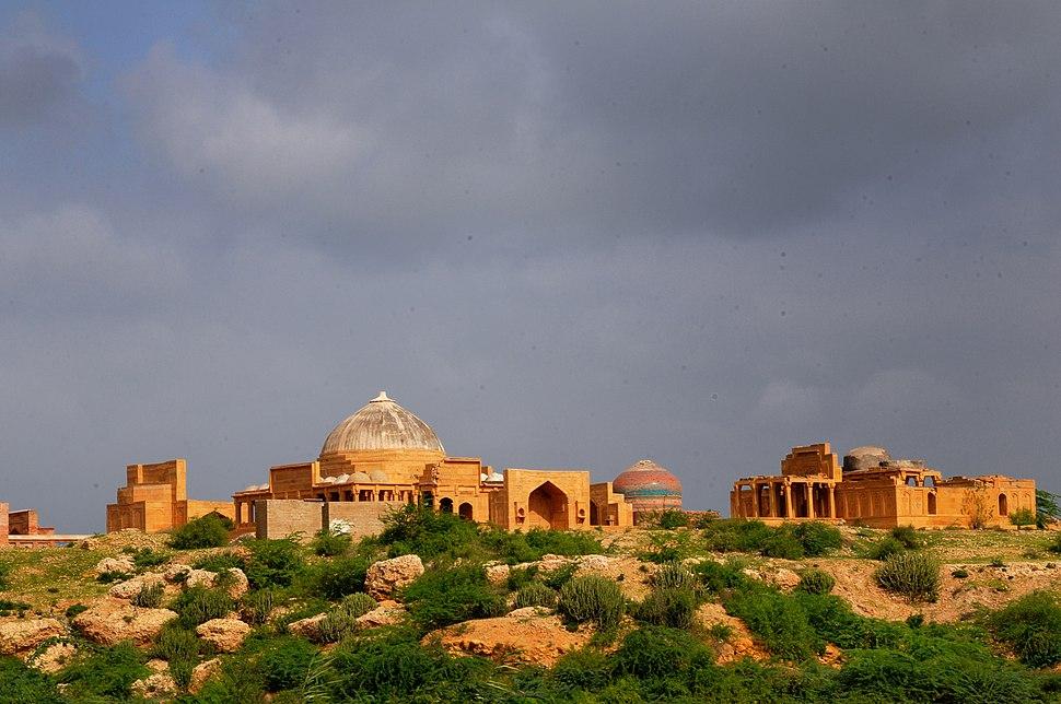 View of Makli by Usman Ghani
