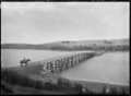 View of the Hinahina Bridge over the Catlins River, near Owaka, 1926 ATLIB 301049.png