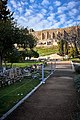 View of the Theatre of Dionysus from Dionysiou Areopagitou Pedestrian Street on February 20, 2021.jpg