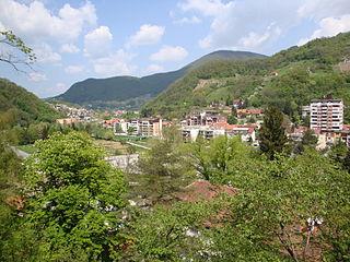Krapina Town in Krapina-Zagorje, Croatia