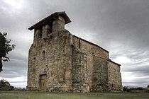 Vilamacolum - Torre i esglèsia fortificada.jpg
