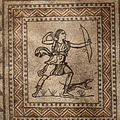 Villa Armira - Central Floor Mosaic in the National Historic Museum Sofia PD 2012 39.JPG