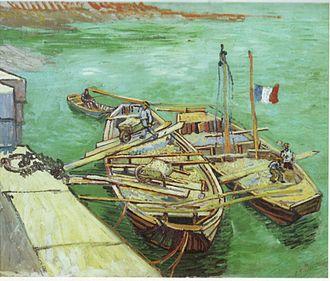 Boats du Rhône - Image: Vincent Van Gogh 0015