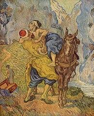 The good Samaritan (after Delacroix) in 1890 by Vincent van Gogh