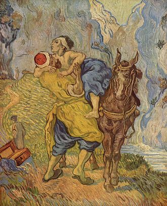 Conscience - Vincent van Gogh, 1890. Kröller-Müller Museum. The Good Samaritan (after Delacroix).