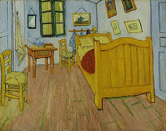 Roy Lichtenstein - Van Gogh's Bedroom in Arles (1888)