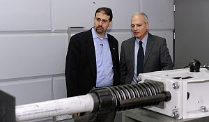Sasa, Israel - U.S. Ambassador Dan Shapiro visiting Plasan, 2012