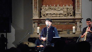 Vitorino - Vitorino singing in the Bleckkirche, the most historic church of Gelsenkirchen