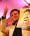 Vivek Oberoi during book launch function in Delhi India photographed by Sumita Roy Dutta.jpg