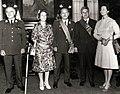 Vizita președintelui Consiliului de Stat al R.S.R. și a Elenei Ceaușescu în Republica Peru. Cei doi președinți împreună cu soțiile.jpg