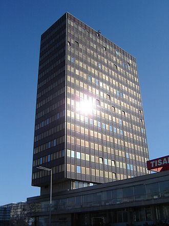 Media of Croatia - The Vjesnik building in Zagreb