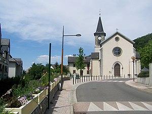 Voglans - The church in Voglans