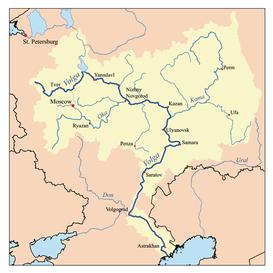 Rio Oder Mapa Fisico.Volga Wikipedia La Enciclopedia Libre