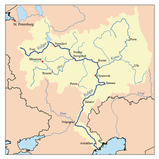 Volga region geographic region