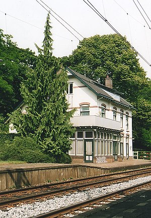 Soestduinen railway station - Image: Voormalig station Soestduinen