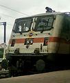 WAP7 Locomotive at Secunderabad railway Station.jpg