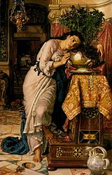 William Holman Hunt: Isabella and the Pot of Basil