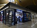 WH Smith, Departures (landside), Adolfo Suarez Madrid Barajas Int. Airport, Madrid, Spain.jpg